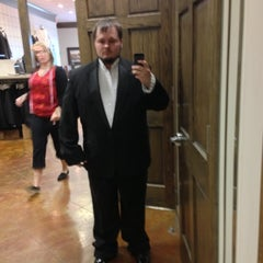 Photo taken at Squires Formalwear For Men by Chris L. on 12/8/2012