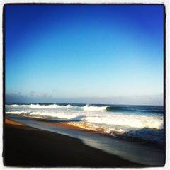 Photo taken at Ehukai Beach by Daniela A. on 12/3/2012