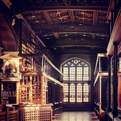 Photo taken at Bodleian Library by Jaime T. on 2/7/2015