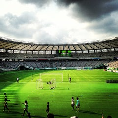 Photo taken at 味の素スタジアム (AJINOMOTO STADIUM) by まんのじ on 7/27/2013