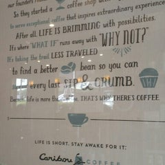 Photo taken at Caribou Coffee by Seth James D. on 5/13/2015