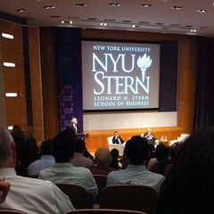 Photo taken at NYU Stern School of Business by Dave M. on 10/16/2012
