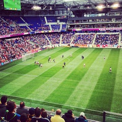 Photo taken at Red Bull Arena by Trey B. on 10/6/2012