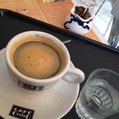 Photo taken at Café da Barra by Rosângela D. on 3/7/2014