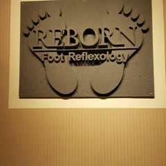 Photo taken at Reborn Foot Reflexology by Jilly A. on 3/24/2015