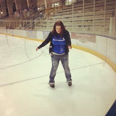 Photo taken at Ice Centre at the Promenade by Joseph H. on 11/29/2012