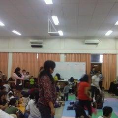 Photo taken at GKI Kebayoran Baru by adryan w. on 10/21/2012