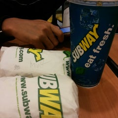 Photo taken at SUBWAY by Siti R. on 6/26/2014