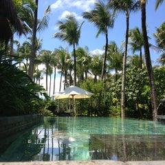 Photo taken at Shangri-La Boracay Resort and Spa by Magi C. on 3/3/2013