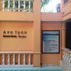 Photo taken at Apo Idon Beach Resort by Es Q. on 4/25/2014