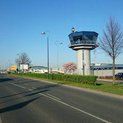 Photo taken at Dortmund Airport (DTM) by Tomek D. on 4/15/2015
