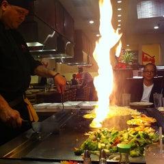 Photo taken at Sumo Japanese Steakhouse by Alexia on 1/12/2014