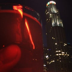 Photo taken at The Biergarten at The Standard, Downtown LA by Jeremy B. on 12/30/2013