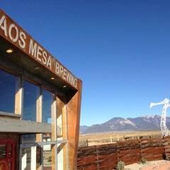 Photo taken at Taos Mesa Brewing by Chris on 11/26/2012