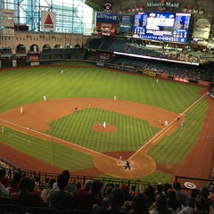 Photo taken at Minute Maid Park by Jamie M. on 6/5/2013