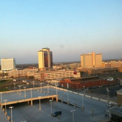Photo taken at Hilton Shreveport by Jim O. on 3/31/2013