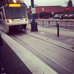 Photo taken at TriMet N Lombard Transit Center by Rurik N. on 2/3/2014