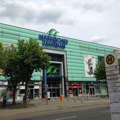 Photo taken at Märkisches Zentrum by Intelli R. on 5/31/2015