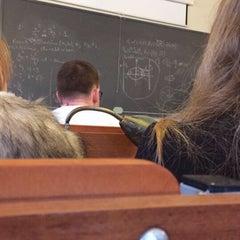 Photo taken at Vilniaus universiteto Filosofijos fakultetas by Ieva on 11/3/2015
