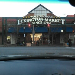 Photo taken at Lexington Market by King👑💵 on 11/26/2012