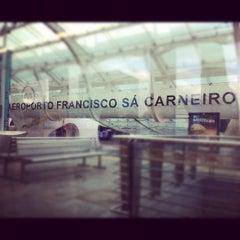 Photo taken at Aeroporto Francisco Sá Carneiro (OPO) by Luis G. on 4/10/2012