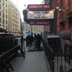 Photo taken at Webster Hall by Tyler W. on 3/22/2013