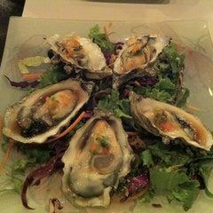 Photo taken at Sushi Ajito by Jeronica on 11/24/2012