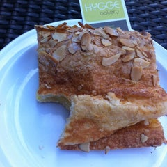 Photo taken at Hygge Bakery by Angela S. on 2/23/2014