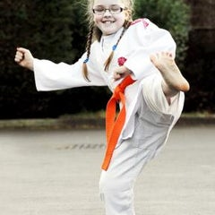Photo taken at Dyman Judo Club Association & Dyman Karate Associates International by Chere C. on 1/10/2014