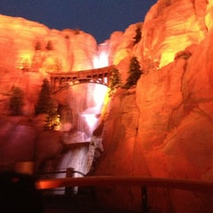Photo taken at Radiator Springs Racers by Michael L. on 5/17/2013