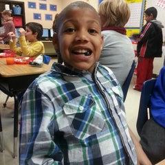 Photo taken at Woodstock Elementary School by Rachel H. on 12/19/2013
