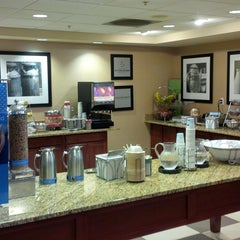 Photo taken at Hampton Inn & Suites Burlington by Arnold C. on 3/22/2014