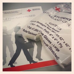 Photo taken at American Red Cross by Reese B. on 4/29/2013