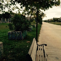 Photo taken at Αττικό Πάρκο Βριλησσίων-Χαλανδρίου by Μαρλιν Σ. on 10/30/2015