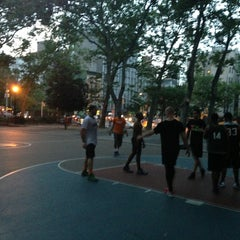 Photo taken at Chrystie St. Courts by Owen R. on 7/1/2013