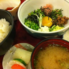 Photo taken at Jinya by Koji O. on 1/16/2013
