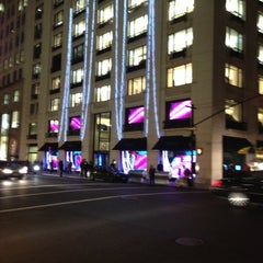 Photo taken at Barneys New York by Michael M. on 12/12/2012