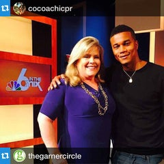 Photo taken at NBC 6 South Florida by COCOACHiC Beauty T. on 4/16/2015