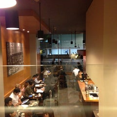 Photo taken at Starbucks Coffee 茅場町店 by Aida T. on 10/18/2012