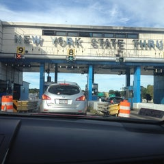Photo taken at New England Thruway Toll Plaza by Kate on 9/14/2014