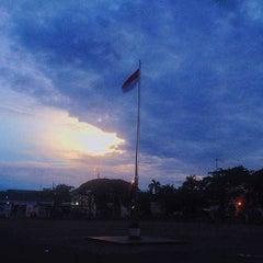 Photo taken at Alun-Alun Kota Serang by Kota S. on 4/25/2016