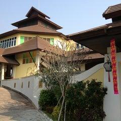 Photo taken at Mountain Creek Wellness Resort Chiangmai by Kittipong P. on 2/18/2013