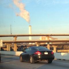 Photo taken at Baltimore BRESCO Smokestack / Wheelabrator Incinerator by Kim F. on 12/6/2012