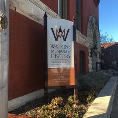 Photo taken at Watkins Museum of History by Jim O. on 12/15/2015