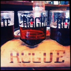 Photo taken at Rogue Brewers on the Bay by Jill on 4/9/2013