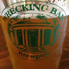 Photo taken at Wrecking Bar Brewpub by Sarah A. on 10/24/2012