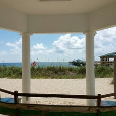 Photo taken at Lauderdale-By-The-Sea by LIPSapp.com on 5/16/2015