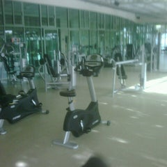 Photo taken at Gimnasio by David R. on 10/12/2012