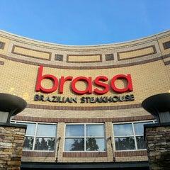 Photo taken at Brasa Brazilian Steakhouse by Jerome S. on 7/13/2013