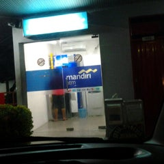Photo taken at ATM Mandiri SPBU Juanda by ina cakra p. on 11/24/2012
